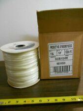 "1000' Samson 1/8"" Solid Braid Nylon Rope Part #0190 00004000 08010030"