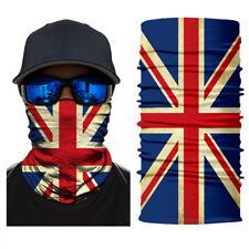 New UK flag Face Shield Fishing Sun Mask Balaclava Headwear UV Multi-fun #A