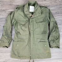 Vintage USAF Air Force M-65 Field Jacket Green Small Regular