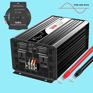 pure sine wave 3200 watt inverter 12v/24V/48V/ DC to AC 120v/230v