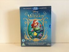 Little Mermaid Trilogy Gift Set (Blu-ray Disc, 2013, 3-Disc Set)  *NEW*