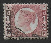 SG48. 1/2d.Rose-Red Plate 13. Very Fine Used. Excellent Condition.  Ref:0.57