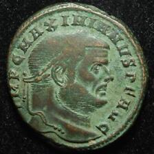 Maximianus BI follis SACRA MON VRB AVGG ET CAESS NN, Rome 300AD - RIC 100b