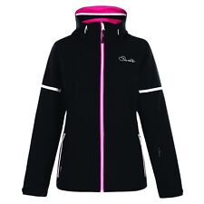 WOMEN'S DARE 2B AMPLIFY BLACK WATERPROOF AND BREATHABLE SKI AND WINTER JACKET