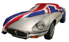 UNION JACK INDOOR CAR COVER VEHICLE LENGTH 165 - 185 INCH TAILORED  - UNION FLAG