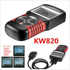 NEW KW820 EOBD OBD2 OBDII Car Scanner Code Reader Auto Engine Diagnostic Tool
