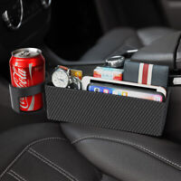 Auto Car Seat Gap Catcher Crevice Pocket Storage Box Organizer Cup Stowing
