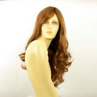 Perruque femme longue bouclée blond foncé ref ZARA en 27