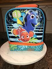 Disney Finding Nemo Lunch Box Double Compartment Dory Lunchbag