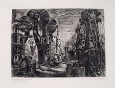 Franz Graf Siemens Halske Berlin Großstanzerei Stanzerei Arbeiter Industrie 1924