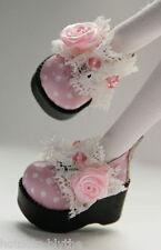 Custom Mary Jane SHOES For Blythe/Pullip/Lalaloopsy/Hujoo/Momoko:B3_152,PK &dots