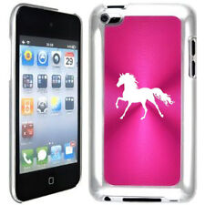 Hot Pink Apple iPod Touch 4th Generation 4g Hard Case Cover B151 Horse