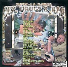 "POETIC 1 & D -DIGGS CD: ""SEX, DRUGS AND RAP"" 1999 E-40/MAC MALL/E A SKI/SPICE-1"
