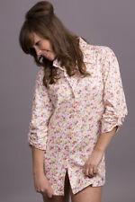 Cotton Pyjama Shirt, Sleepshirt, Nightie S,M, L, XL