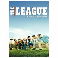 The League: The Complete Season Four (DVD, 2013, 2-Disc Set) -Brand New-Sealed