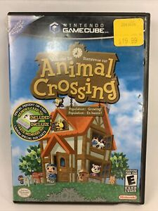 Animal Crossing ( Nintendo GameCube, 2002) Complete Tested