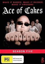Ace Of Cakes : Season 10 (DVD, 2014) New  Region Free