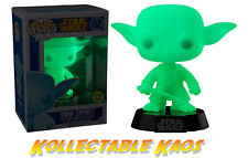 Star Wars - Spirit Yoda Glow in the Dark Pop! Vinyl Bobble Head Figure