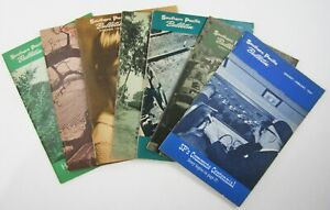Vintage Southern Pacific Railroad History Employee Magazine Bulletin Lot 1964