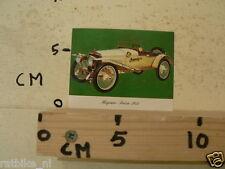 STICKER,DECAL HISPANO SUIZA 1912 VINTAGE CAR