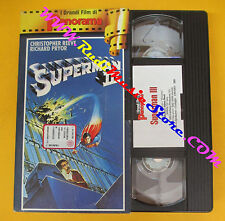 film VHS SUPERMAN III Christopher Reeve Richard Pryor PANORAMA (F104) no dvd