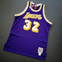 100% Authentic Magic Johnson Mitchell Ness 79 80 Lakers Jersey Size 48 XL Mens