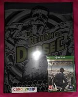 WATCH DOGS 2 THE RETURN OF DEDSEC EDITION COLLECTOR XBOX ONE NEW 100% FRANCAIS