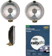 2 x RING Car Spot lights Ring Rally Giant Lamps Including White Covers  RL030C