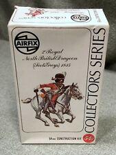 AIRFIX COLLECTION SERIES 2nd Royal North British Dragoon (Scots Greys) 1815 54mm