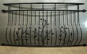 Powder coated Juliet Balcony, Balustrades, Railings, leaves. Number 4