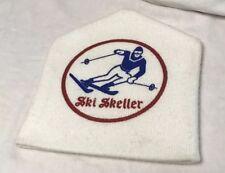 Older vint SKI SKELLER screen printed winter cap beanie outdoor skiing camping
