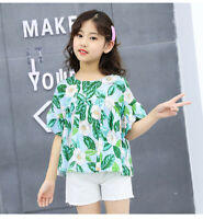 IENENS Fashion Children Girls Clothes Sets Tops + Pants Summer Clothing Outfits