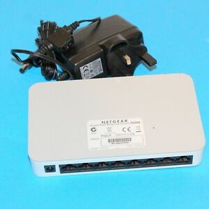 NETGEAR Fast Ethernet Switch FS208 With Power Supply