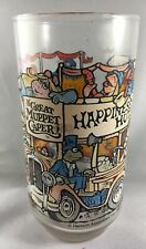 McDonald's Happiness Hotel Glass 1981 The Great Muppet Caper Movie Libby Glass