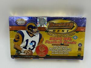 2000 Bowman's Best Football Factory Sealed Unopened Hobby Box w/ 24 Packs