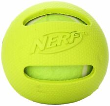 "Nerf Dog RETRIEVER BALL Dog Toy 3"" Blue Yellow or Red Encase a Tennis Ball"
