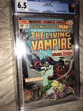 ADVENTURE INTO FEAR #24 CGC 6.5 Marvel Comics 1974 MORBIUS & BLADE Meeting Hot🔑