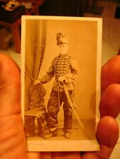 belle photo sur carton chasseur a cheval du 2eme chasseurs avant 1914