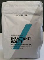 Myprotein Impact Whey Isolate Chocolate Brownie Powder Drink Mix Wt 2.2 lb, 1kg