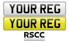 Premium Pair Of Standard MOT Road Legal Car Van Reg Registration Number Plates