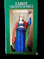Jeu de Tarot Divinatoire Visconti-Sforza Cartes Majeures et Mineures Esotérisme