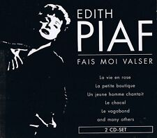 "EDITH PIAF ""Fais Moi Valser"" 78rpm time  2CD-Set NEU & OVP 40 Tracks"