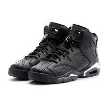 """Nike Jodan 6 Retro BG tamaño Air 3.5 Reino Unido """"Negro Cat"""" Nuevo Y En Caja Zapatillas Auténticas"""