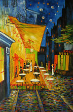 Cafe Terrace at Night, Van Gogh Repro.Oil Painting,90 x 60 cm