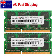 AU 8gb 2x4gb Pc3-10600 Ddr3-1333 204pin So-dimm Memory MacBook Pro iMac Mac Mini