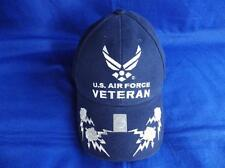 UNITED STATES AIR FORCE VETERAN ( USAF ) EMBROIDERED BASEBALL CAP (C )