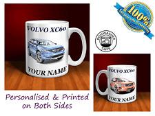 Volvo XC60 Personalised Ceramic Mug Gift. Other models available (C028)