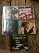 Lot Of Elvis, Faith Hill. Mountains And Streams, And America The Beautiful