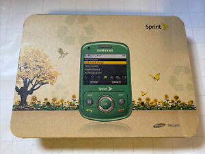 Samsung Reclaim Eco SPH-M560 Green Wireless Slider QWERTY Cell  In Box..Sprint