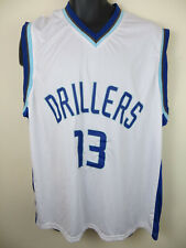 Tulsa Drillers Baseball Shirt #13 Basketball Style Jersey Vest Top Mens XL